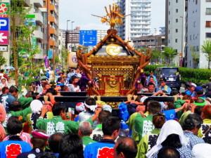 例大祭 神輿渡御